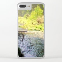 Otway Ranges Clear iPhone Case