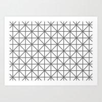 optical illusion background Art Print