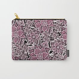 Wildflowers (Blushing Magenta) Carry-All Pouch