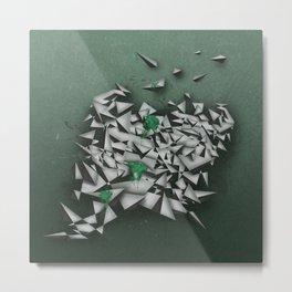 Emeralds Metal Print