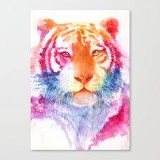 Rainbow stripes Canvas Print