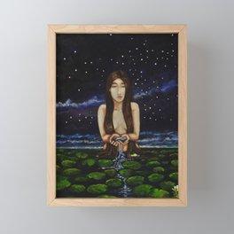 A Naiad Framed Mini Art Print
