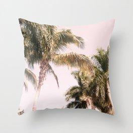 Floridian Palm Tree Vibes #2 #tropical #wall #decor #art #society6 Throw Pillow