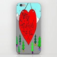 christmas love iPhone & iPod Skin