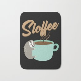 Sloffee | Coffee Sloth Bath Mat