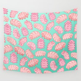 Squishy Tardigrades Wall Tapestry