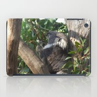 koala iPad Cases featuring Koala by Jasmine van Aken