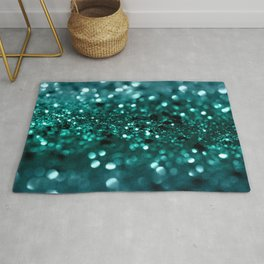 Sparkling OCEAN Glitter #1 #shiny #decor #art #society6 Rug