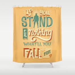 Make a stand Duschvorhang