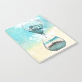 11th Hour Glass Notebook