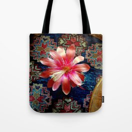 Cactus Flower By Design Tote Bag