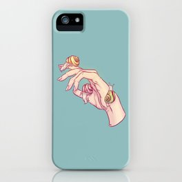 Hand Study No.1 // The Snails One iPhone Case