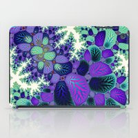 novelty iPad Cases featuring Leafy Nosegay Fractal by Moody Muse