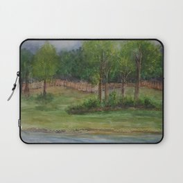 A Storm at The Strand MM151206f-13 Laptop Sleeve