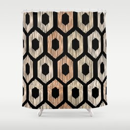 Animal Print Pattern Shower Curtain
