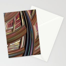 Striped Weave Stationery Cards