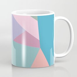 Fractured Triangles in Playful Color Coffee Mug