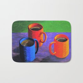 Morning Cup of Coffee Bath Mat