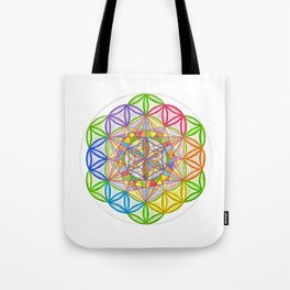Hidden Jewel - The Rainbow Tribe Collection Tote Bag