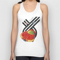 led zeppelin Tank Tops featuring Led Storm by Slippytee Clothing