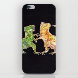 T-Rex Fight iPhone Skin