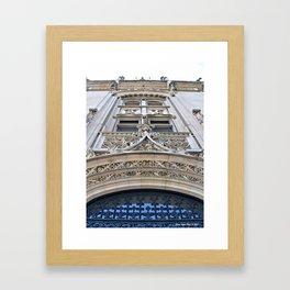 Biltmore Entrance Framed Art Print