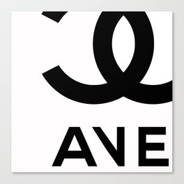 THE AVE by Fifth Avenue Sacks Canvas Print