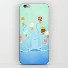 Ice Cream Power iPhone Skin