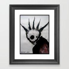 Punk Macabre Framed Art Print