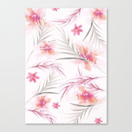 Super summer pink Canvas Print