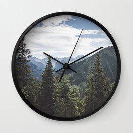 Tatra Mountains Wall Clock