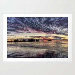 Chesterman Beach Sunset Art Print