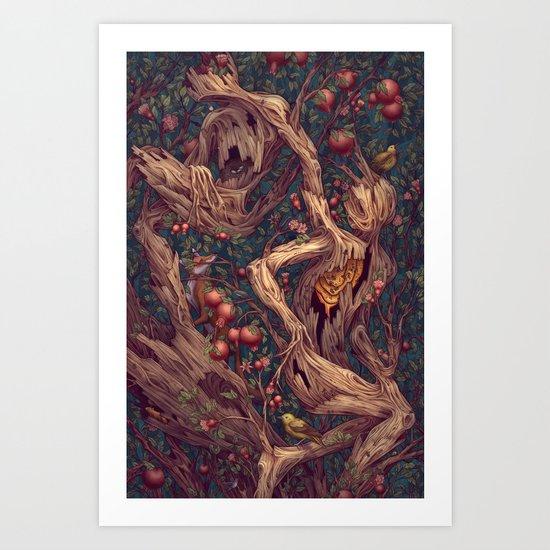 Tree People Art Print