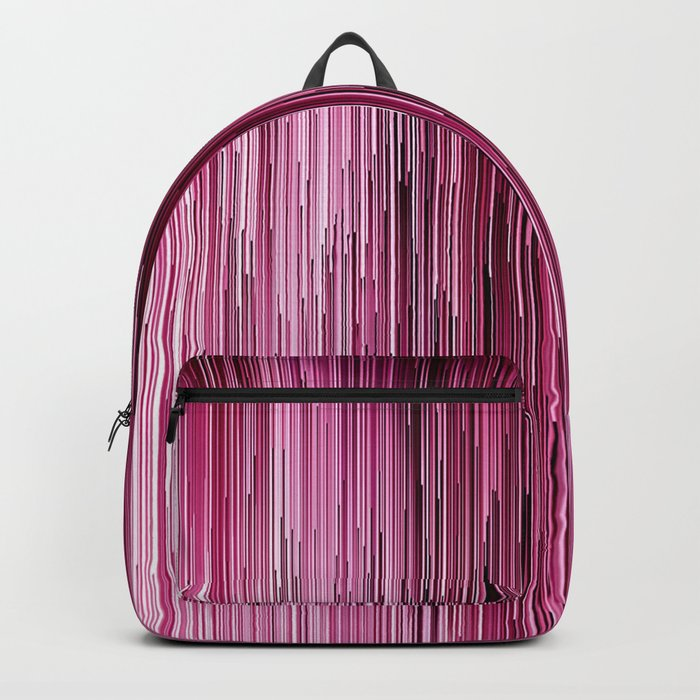 Planet Pixel Cotton Candy Pink Backpack