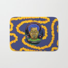 The French Face of Money Bath Mat