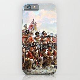 Elizabeth Thompson - The 28th Regiment at Quatre Bras - Digital Remastered Edition iPhone Case
