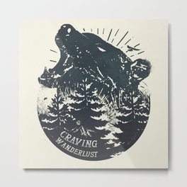 Craving wanderlust II Metal Print