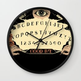 Momento Mori Spirit Board Wall Clock