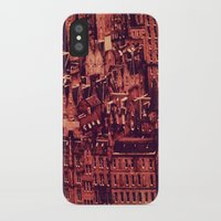 edinburgh iPhone & iPod Cases featuring Edinburgh by Molly Smiles