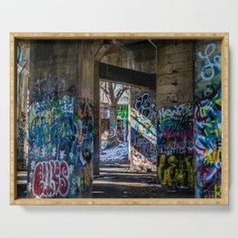 Graffiti Playground Serving Tray