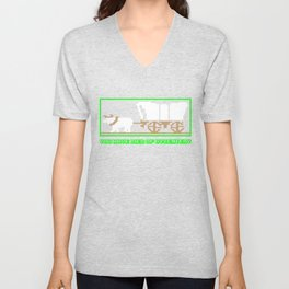 You Have Died of Dysentery - Funny Gaming Quote Gift Unisex V-Neck