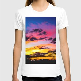 Sunset on Hwy 380 T-shirt
