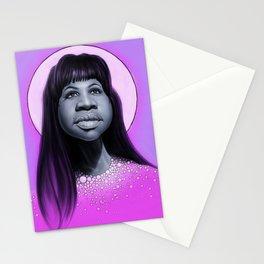 Aretha Franklin Stationery Cards
