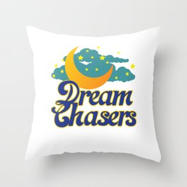 This is the Awesome, Motivational & inspirational Tee with great graphics Designs for Dream chasers! Throw Pillow