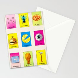 BB LOTERIA POD CASE & SKIN Stationery Cards
