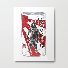 Shogun Beer Metal Print