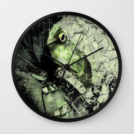 The Plague Doctor II Wall Clock