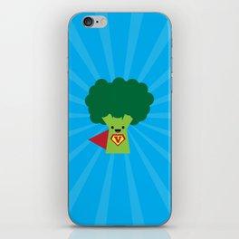 Super Broccoli iPhone Skin
