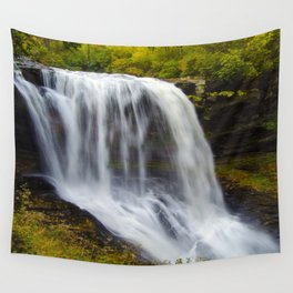 Silky waterfall Wall Tapestry