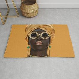 Black woman style/2 Rug
